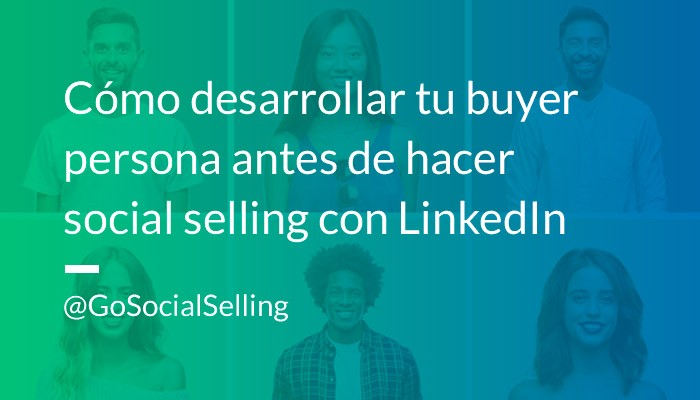 buyer persona social selling