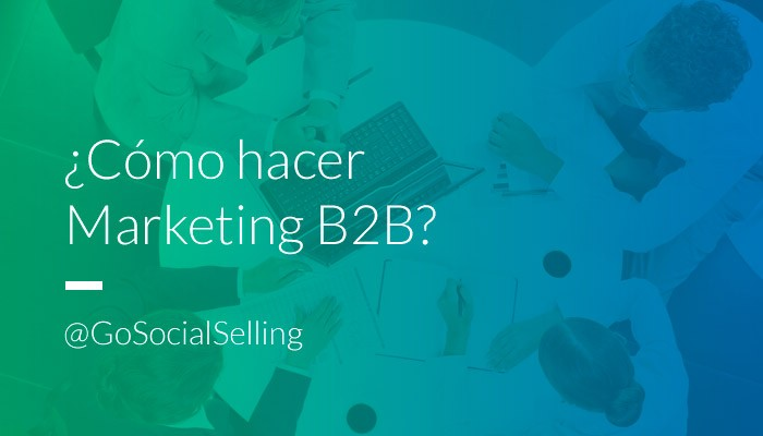 social selling marketing b2b